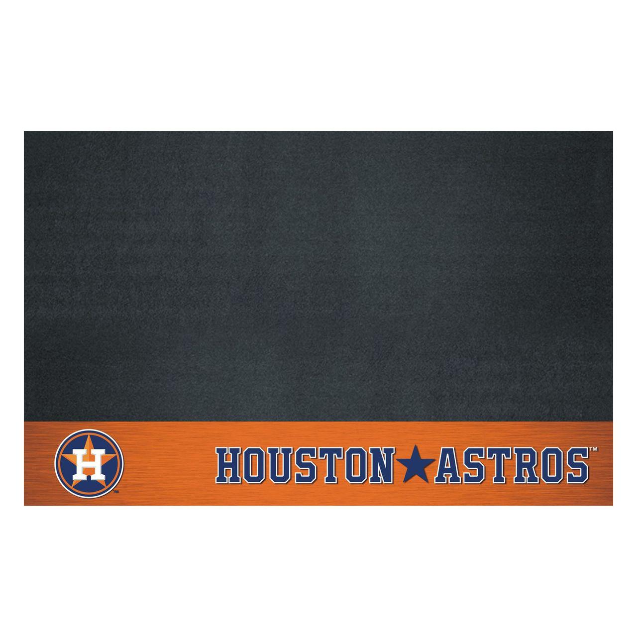 "Fanmats 12155 MLB - Houston Astros Grill Mat 26""x42"""