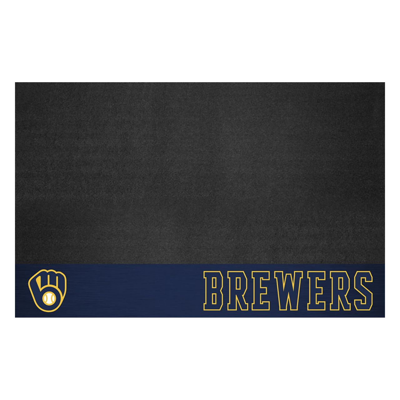 "Fanmats 12159 MLB - Milwaukee Brewers Grill Mat 26""x42"""