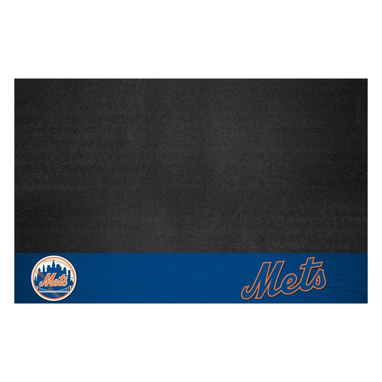 "Fanmats 12161 MLB - New York Mets Grill Mat 26""x42"""