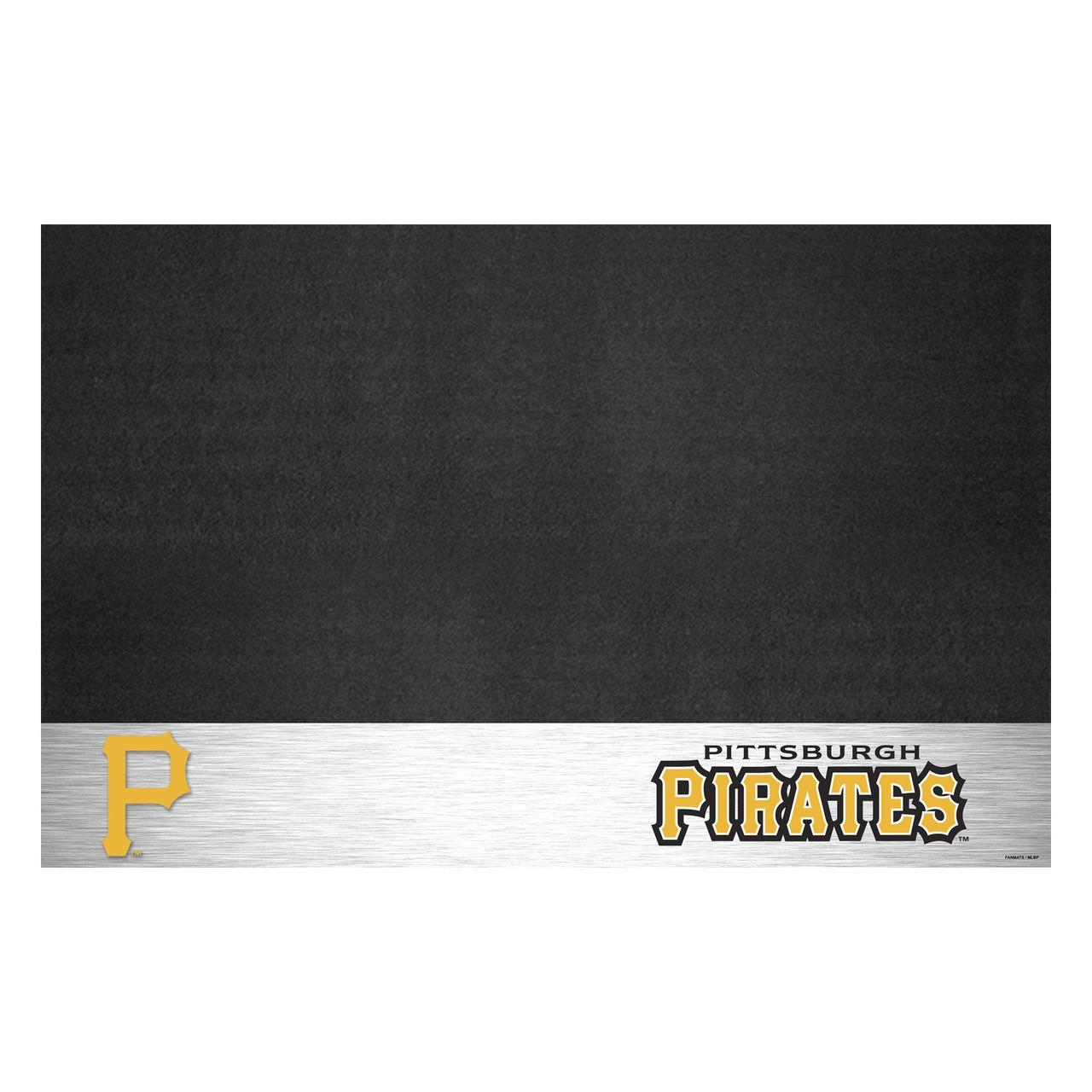 "Fanmats 12165 MLB - Pittsburgh Pirates Grill Mat 26""x42"""