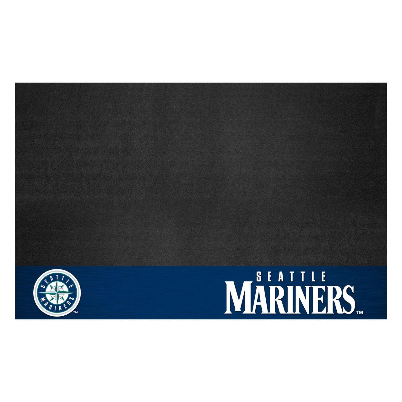 "Fanmats 12168 MLB - Seattle Mariners Grill Mat 26""x42"""