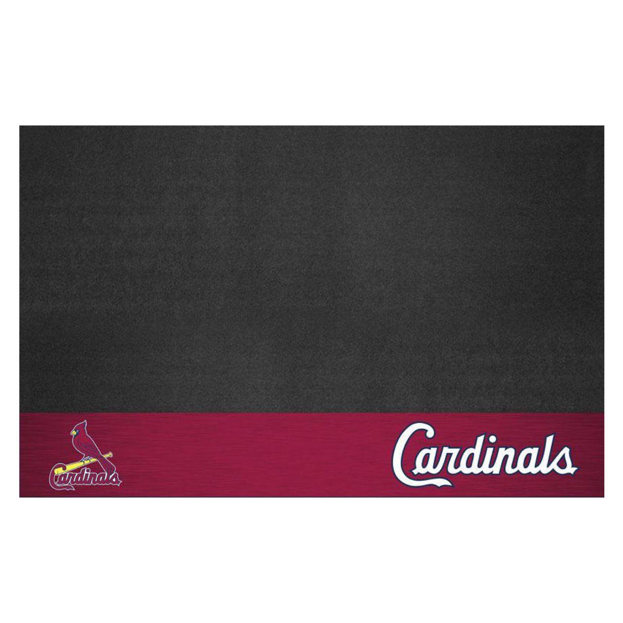 """MLB - St. Louis Cardinals Grill Mat 26"""" x 42"""""""
