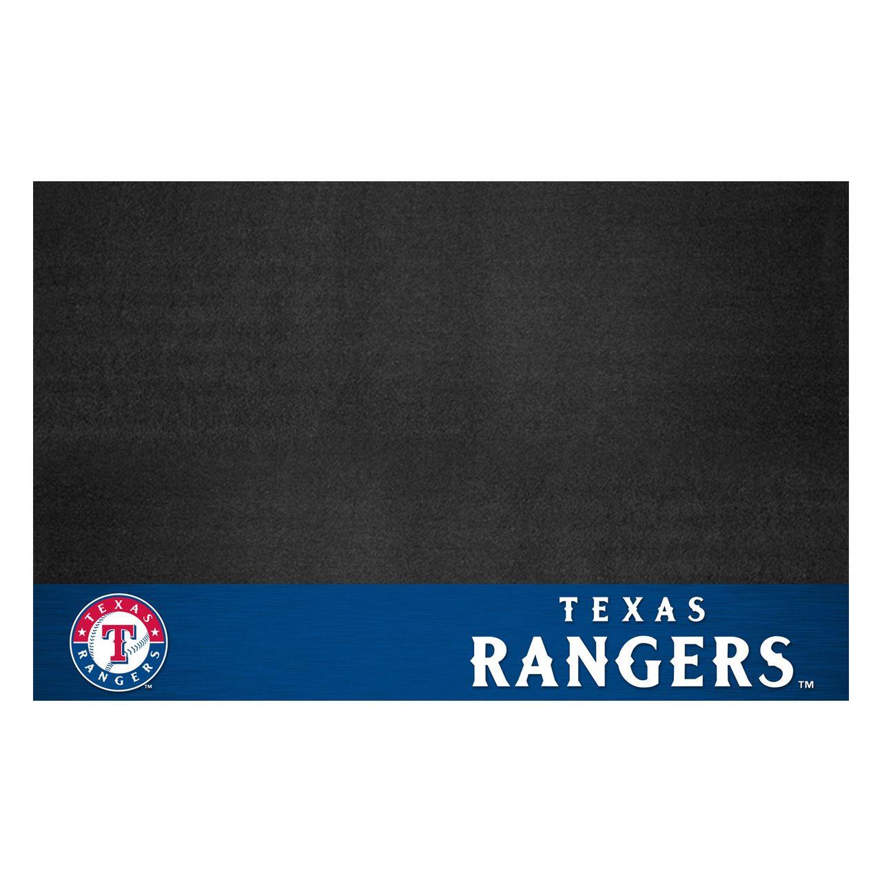 "Fanmats 12171 MLB - Texas Rangers Grill Mat 26""x42"""