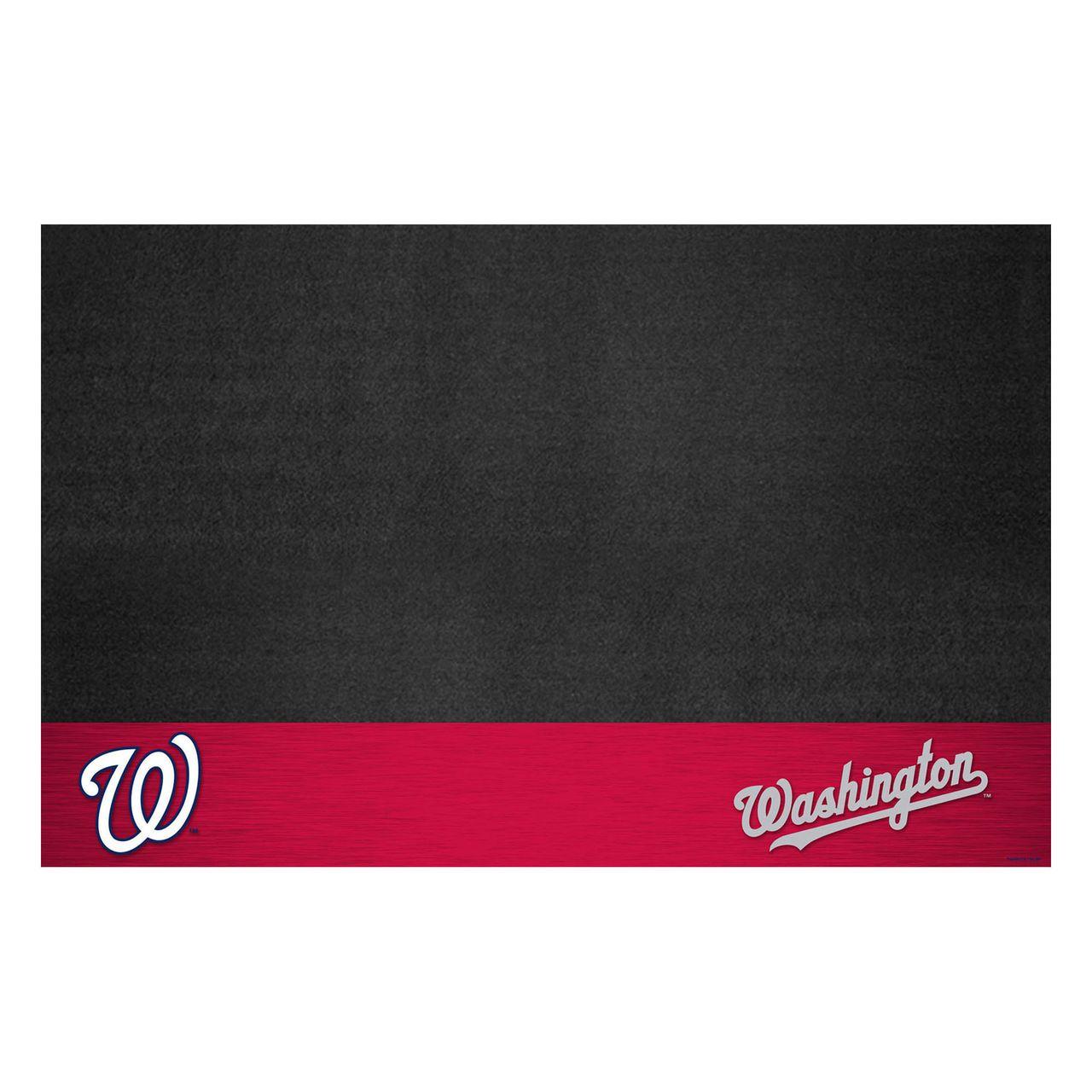 "Fanmats 12173 MLB - Washington Nationals Grill Mat 26""x42"""