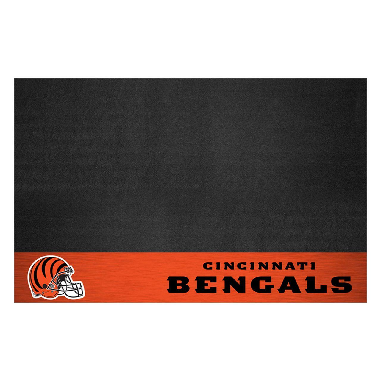 """Fanmats 12180 NFL - Cincinnati Bengals Grill Mat 26""""x42"""""""