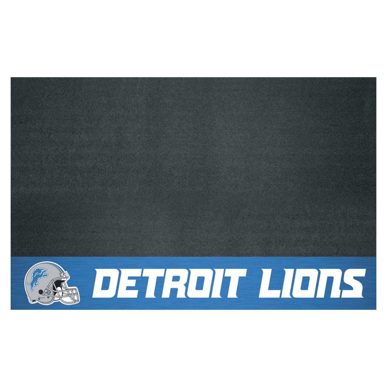 """Fanmats 12184 NFL - Detroit Lions Grill Mat 26""""x42"""""""