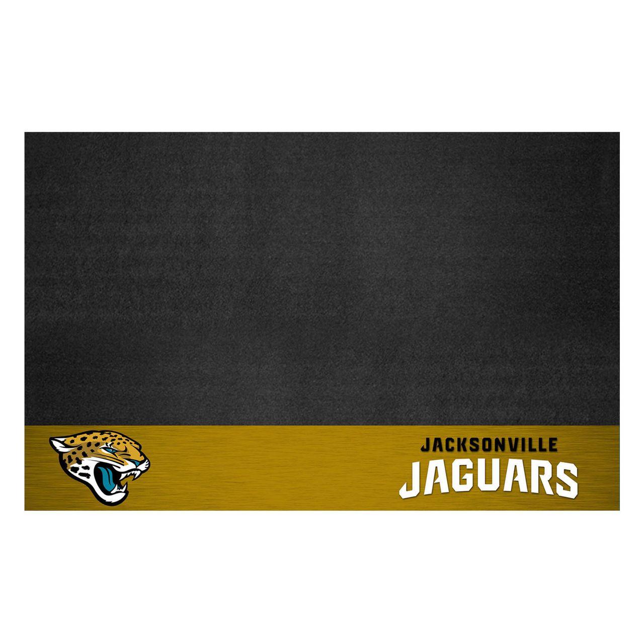 """Fanmats 12188 NFL - Jacksonville Jaguars Grill Mat 26""""x42"""""""