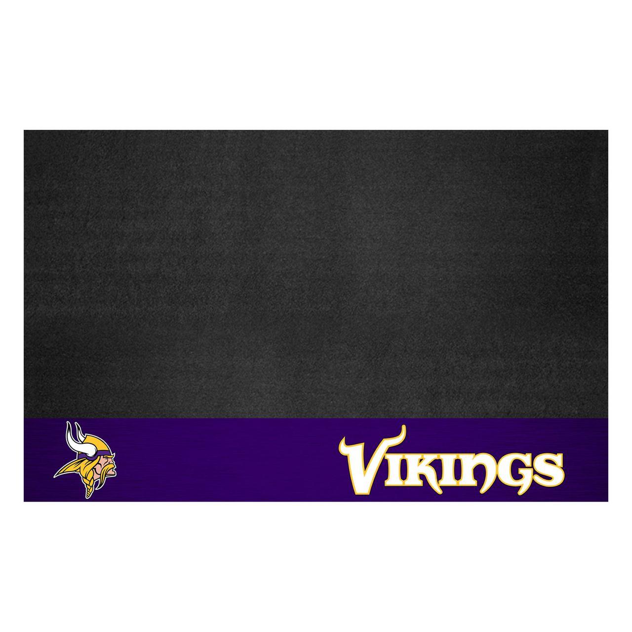 """Fanmats 12191 NFL - Minnesota Vikings Grill Mat 26""""x42"""""""
