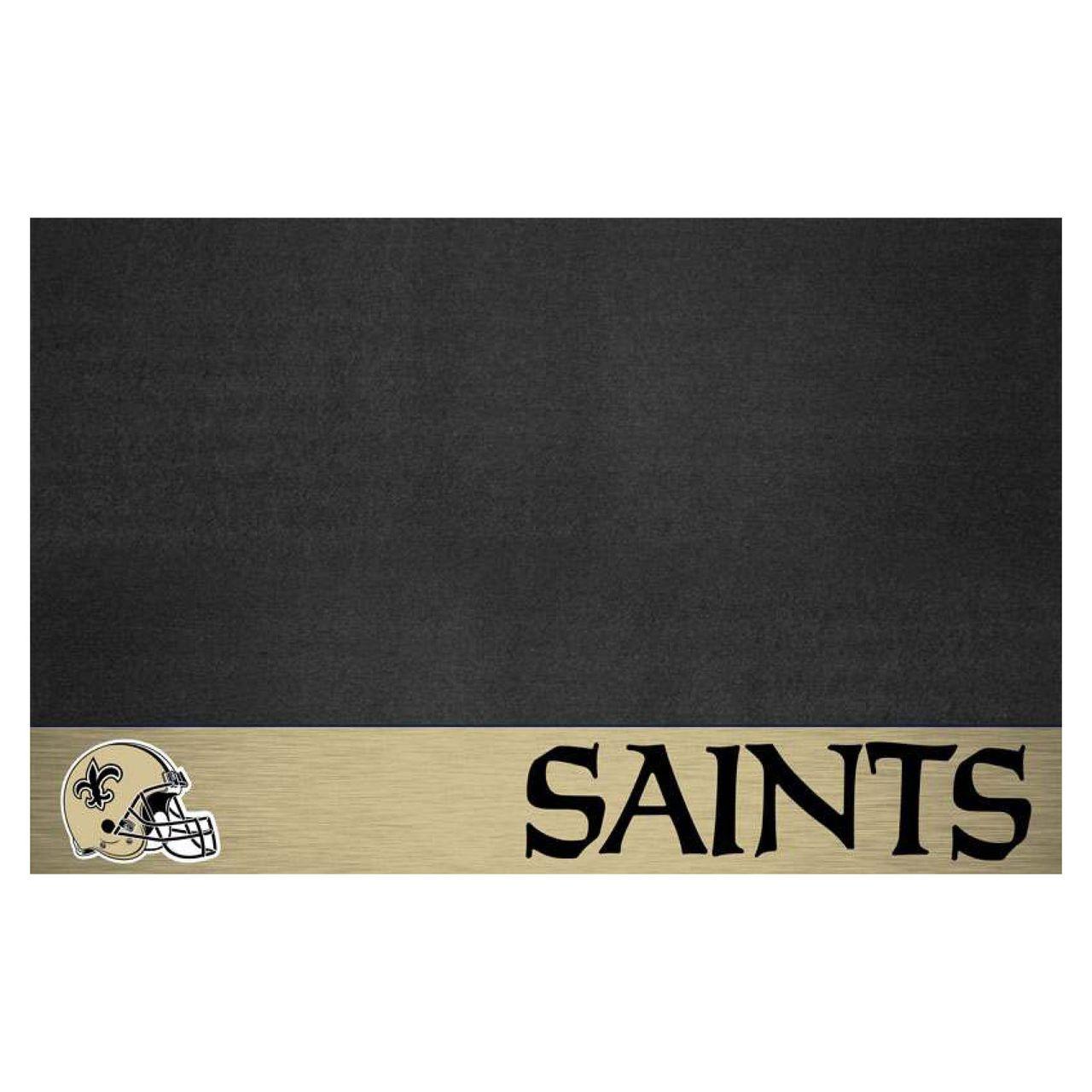 """NFL - New Orleans Saints Grill Mat 26"""" x 42"""""""