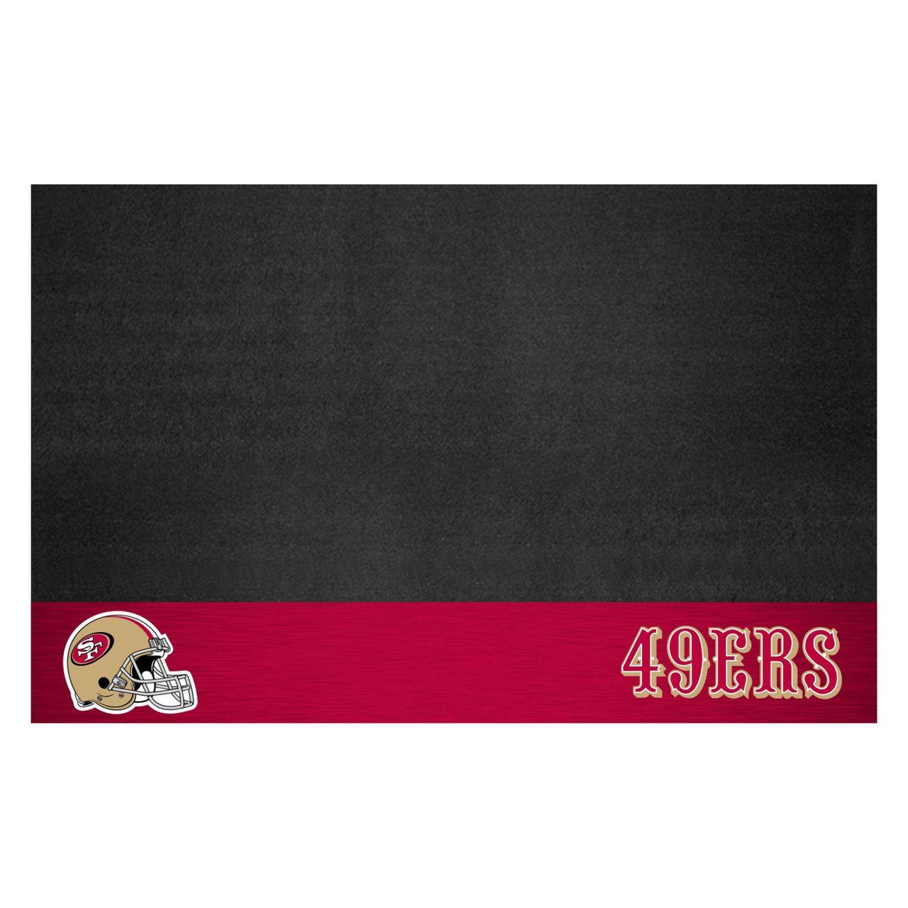 """NFL - San Francisco 49ers Grill Mat 26"""" x 42"""""""
