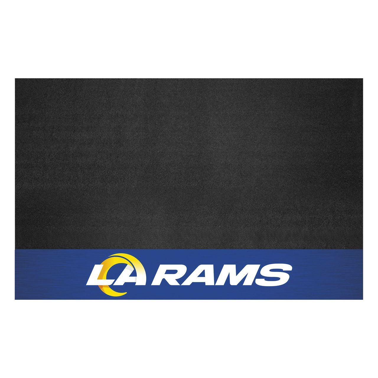 "Fanmats 12202 NFL - Los Angeles Rams Grill Mat 26""x42"""