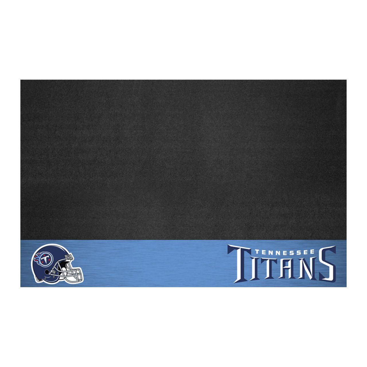 "Fanmats 12204 NFL - Tennessee Titans Grill Mat 26""x42"""