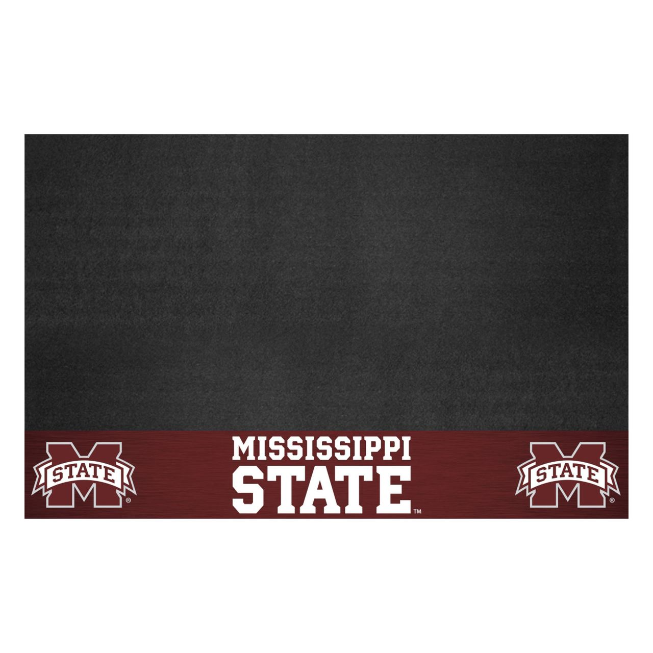 """Fanmats 12469 Mississippi State Grill Mat 26""""x42"""""""