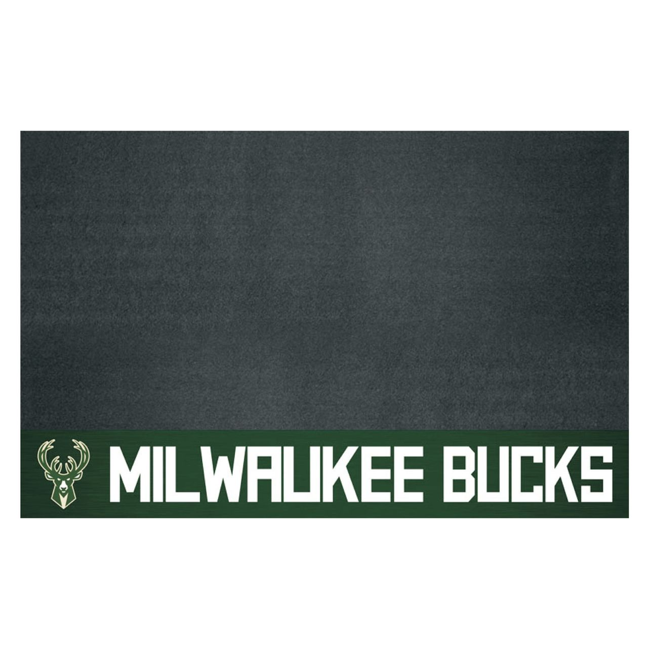 """Fanmats 14211 NBA - Milwaukee Bucks Grill Mat 26""""x42"""""""