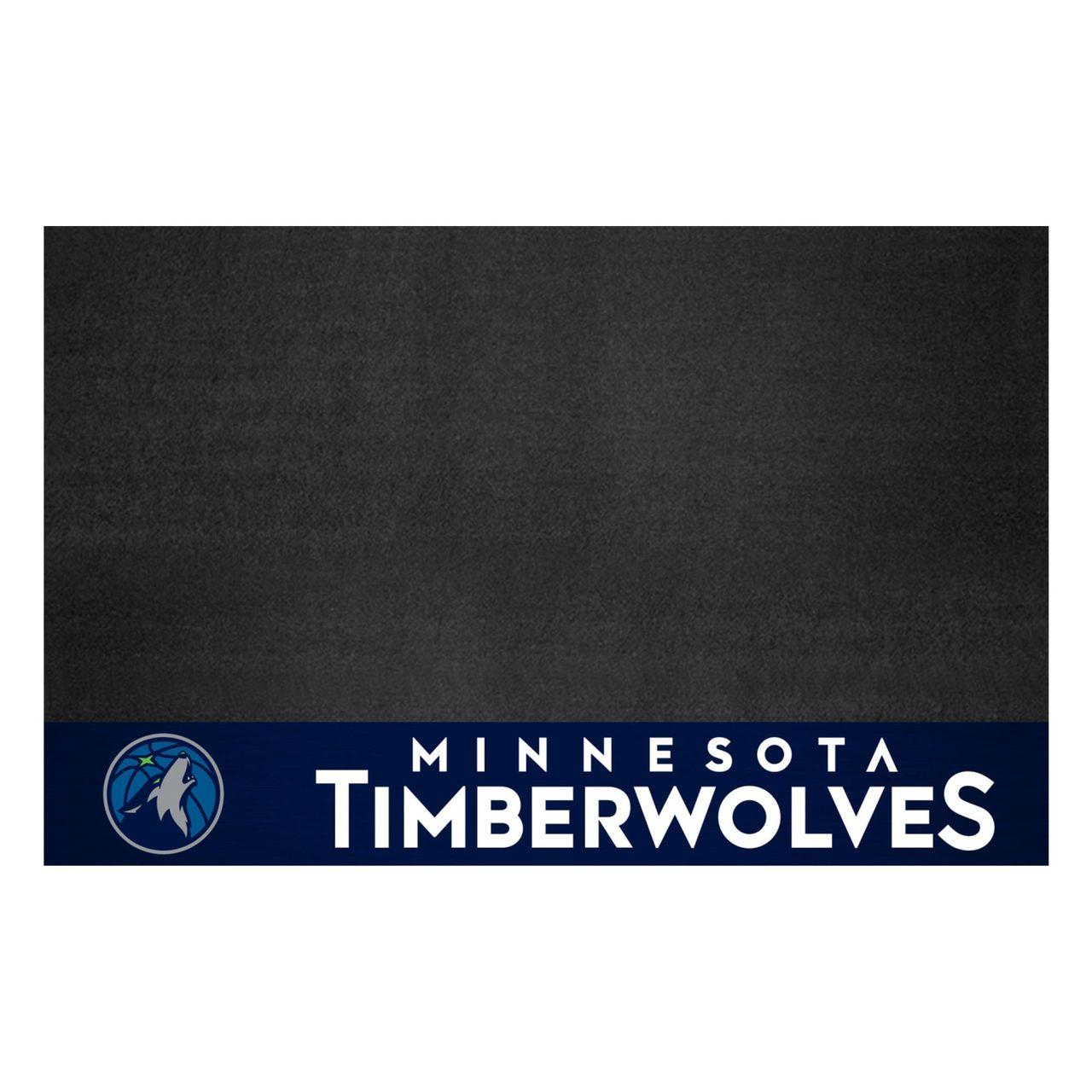 "Fanmats 14212 NBA - Minnesota Timberwolves Grill Mat 26""x42"""