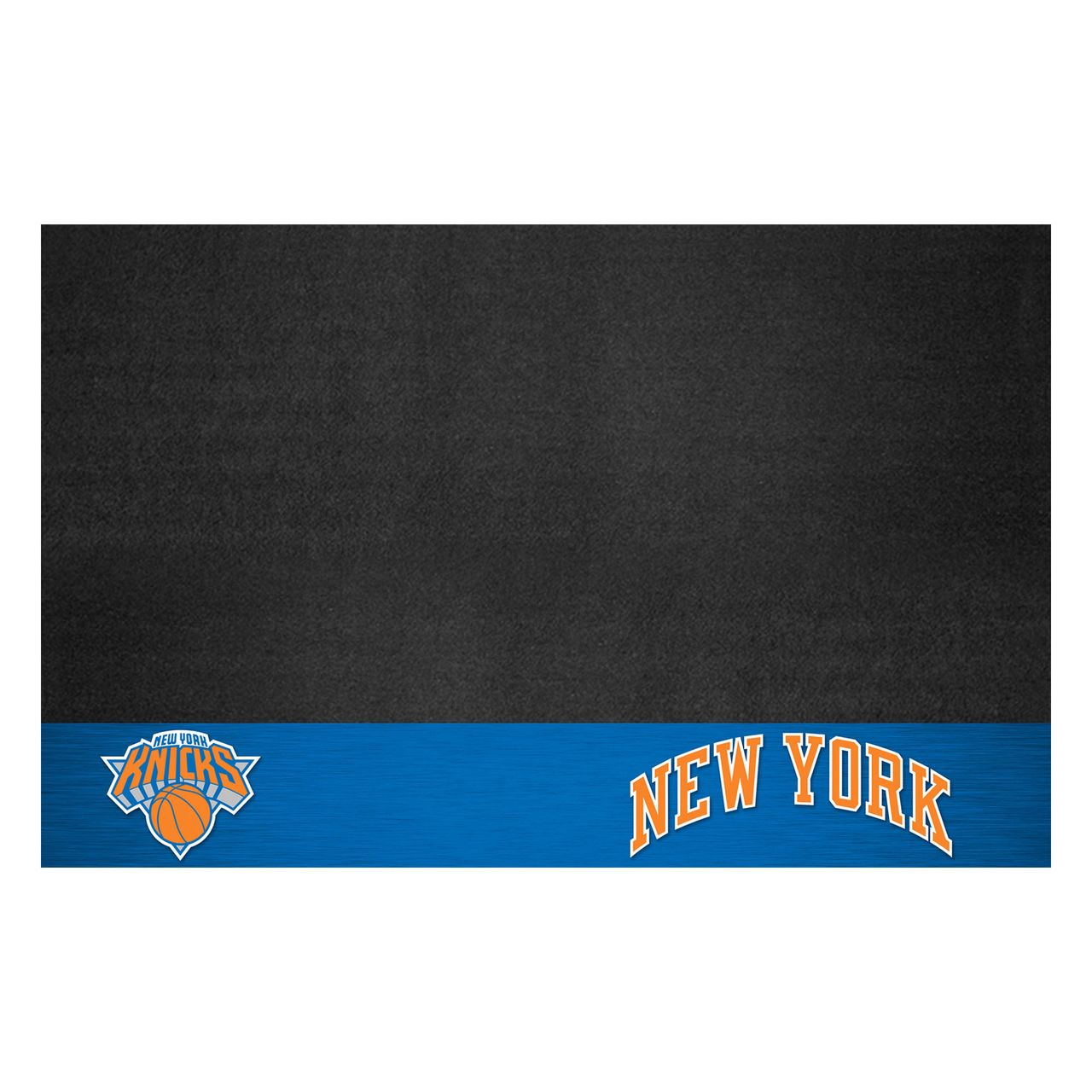 "Fanmats 14214 NBA - New York Knicks Grill Mat 26""x42"""