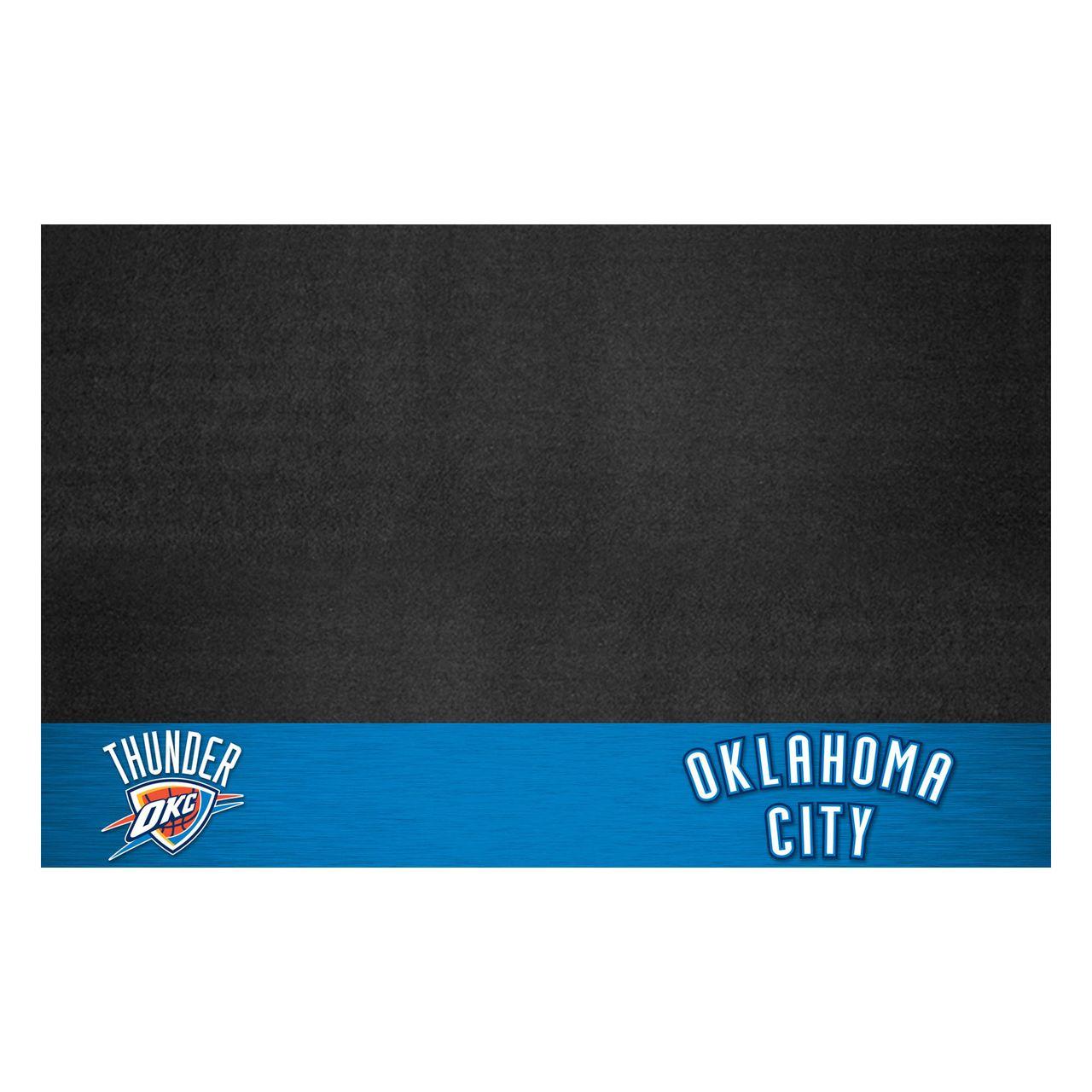"""Fanmats 14215 NBA - Oklahoma City Thunder Grill Mat 26""""x42"""""""
