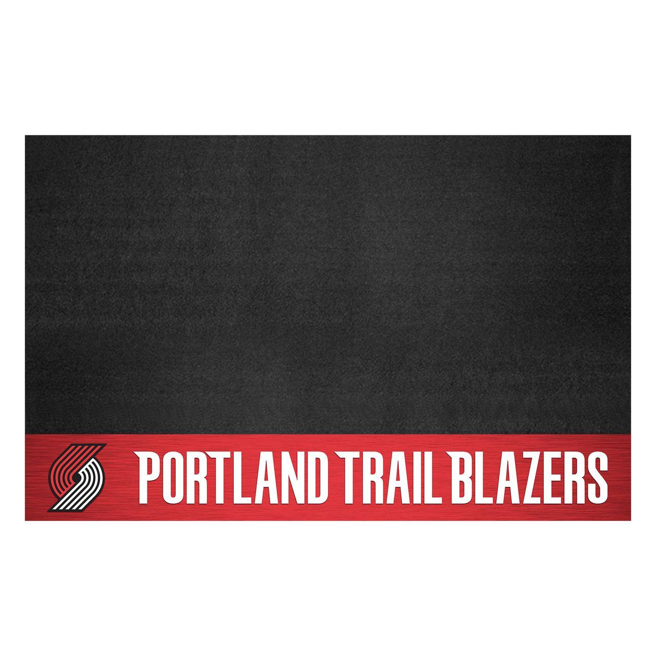 """Fanmats 14219 NBA - Portland Trail Blazers Grill Mat 26""""x42"""""""