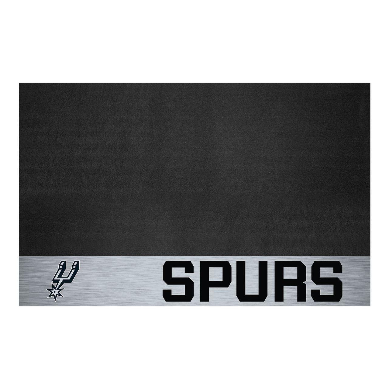 """Fanmats 14221 NBA - San Antonio Spurs Grill Mat 26""""x42"""""""