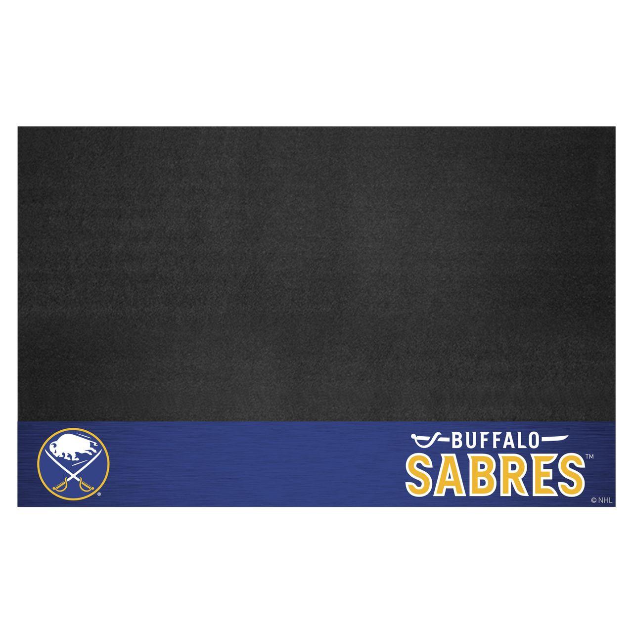 "Fanmats 14227 NHL - Buffalo Sabres Grill Mat 26""x42"""