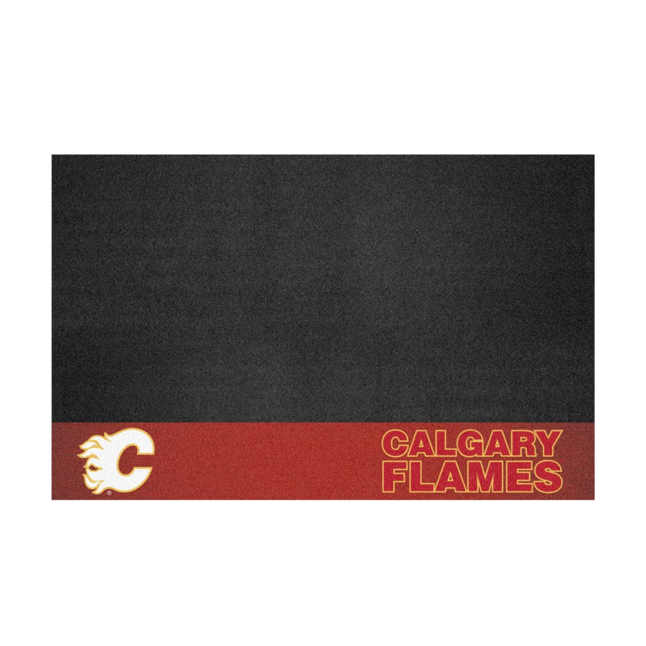 "Fanmats 14228 NHL - Calgary Flames Grill Mat 26""x42"""