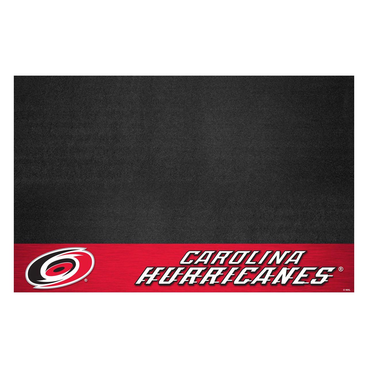 "Fanmats 14229 NHL - Carolina Hurricanes Grill Mat 26""x42"""