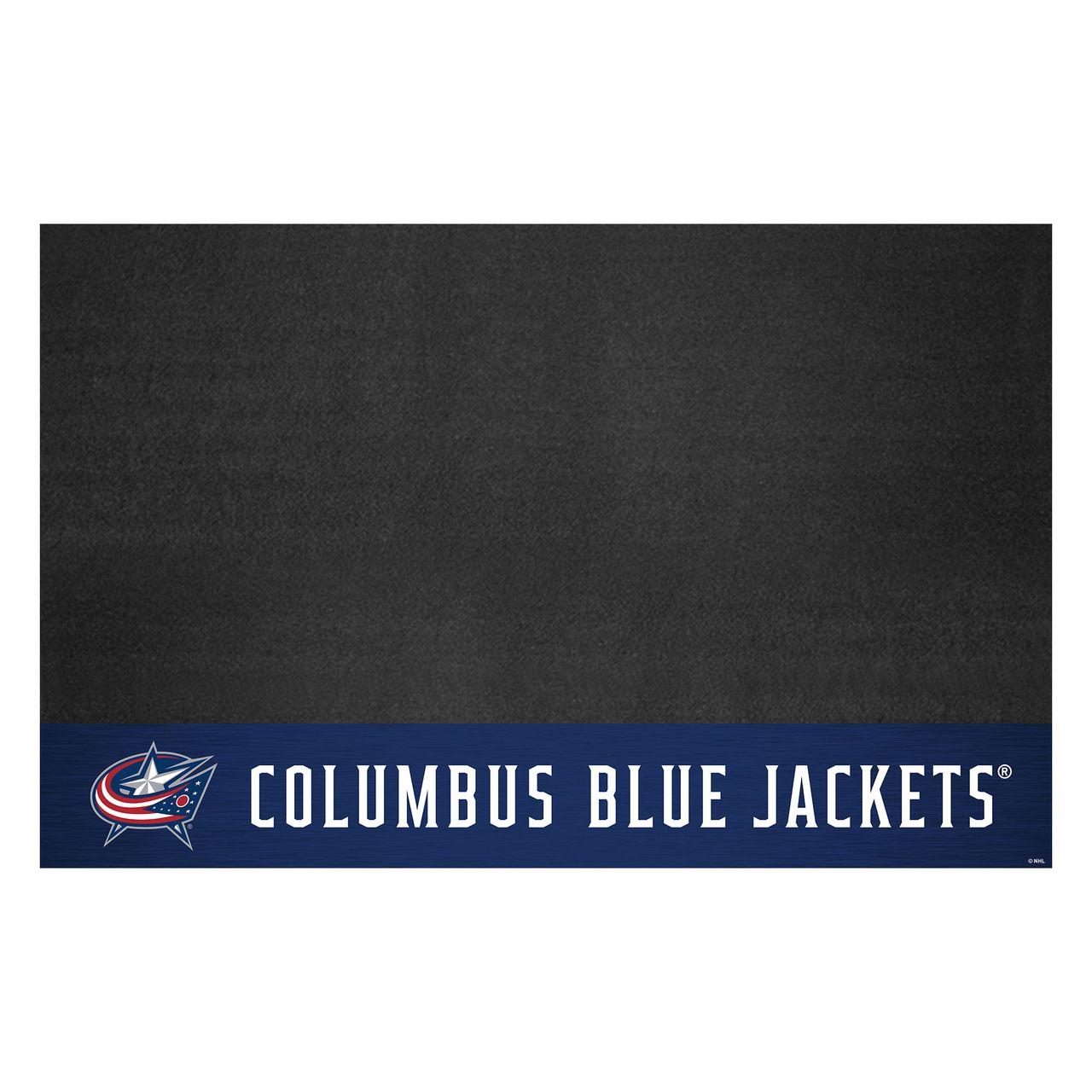 "Fanmats 14232 NHL - Columbus Blue Jackets Grill Mat 26""x42"""