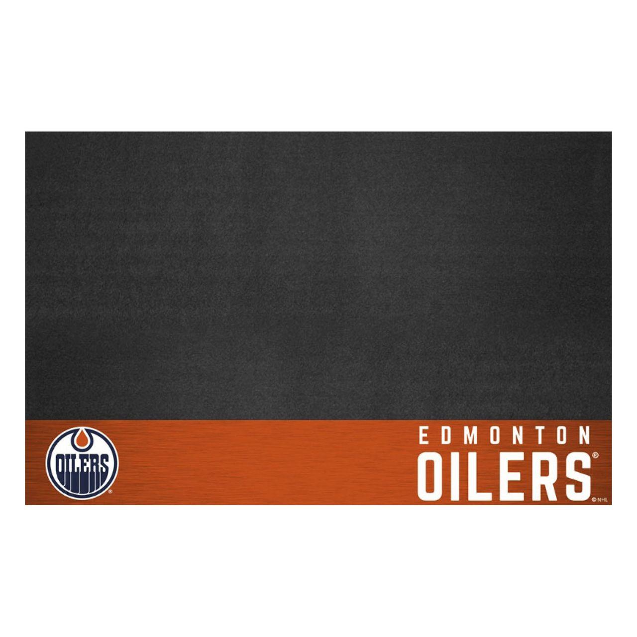 "Fanmats 14235 NHL - Edmonton Oilers Grill Mat 26""x42"""