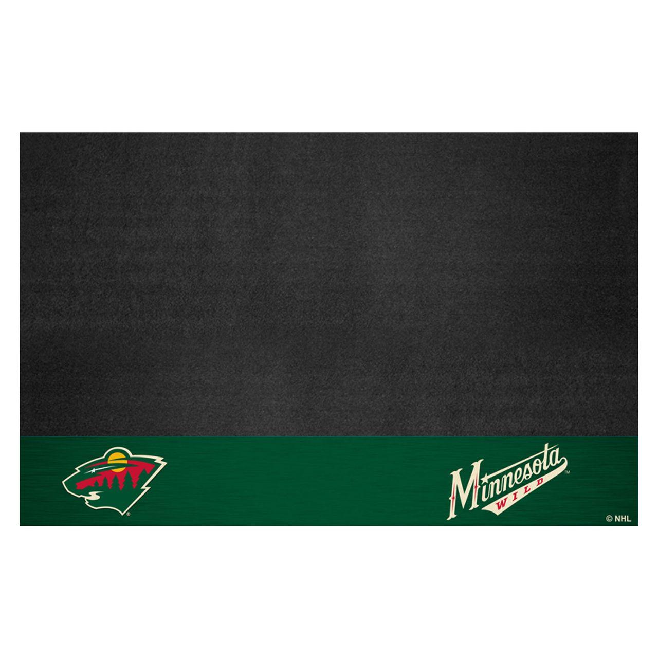 """Fanmats 14238 NHL - Minnesota Wild Grill Mat 26""""x42"""""""