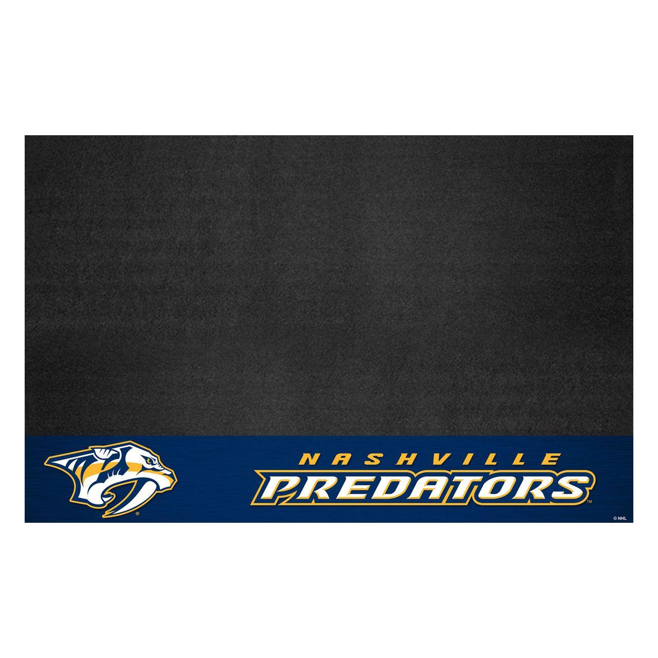 "Fanmats 14240 NHL - Nashville Predators Grill Mat 26""x42"""