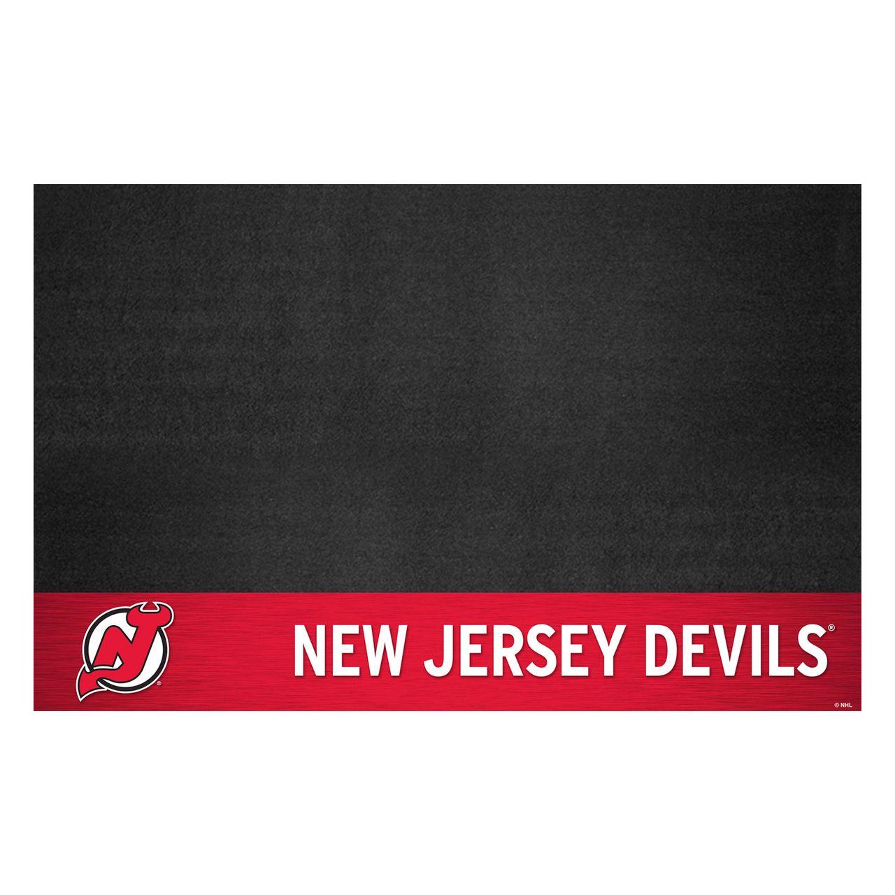 "Fanmats 14241 NHL - New Jersey Devils Grill Mat 26""x42"""