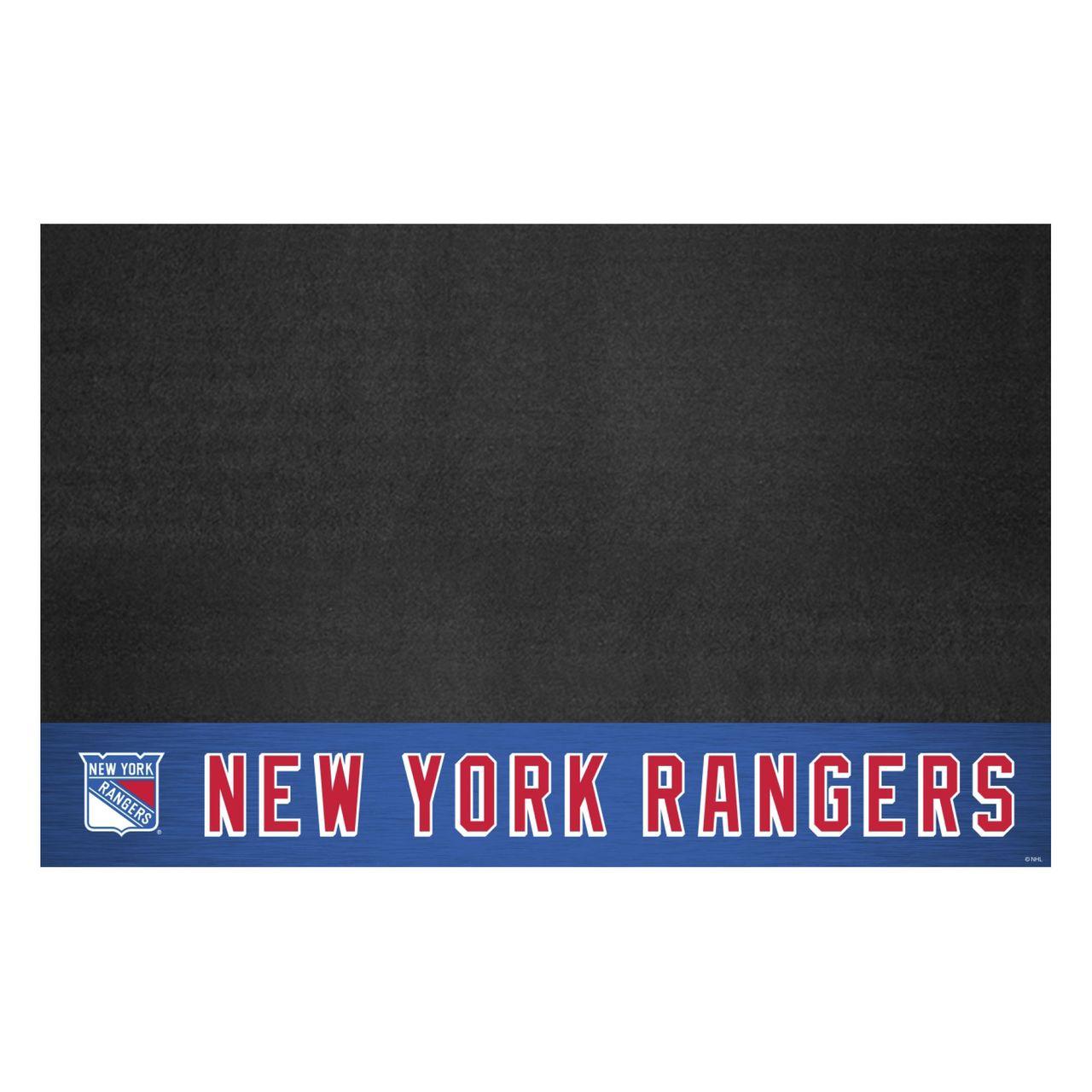 "Fanmats 14243 NHL - New York Rangers Grill Mat 26""x42"""