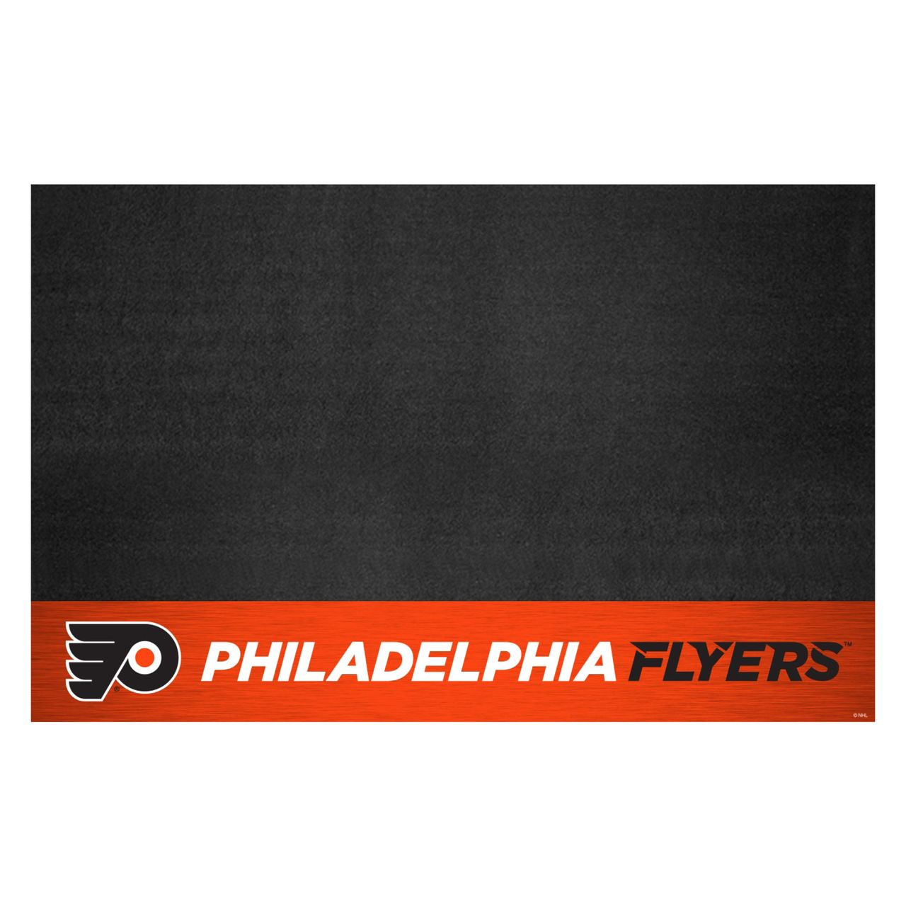 "Fanmats 14245 NHL - Philadelphia Flyers Grill Mat 26""x42"""