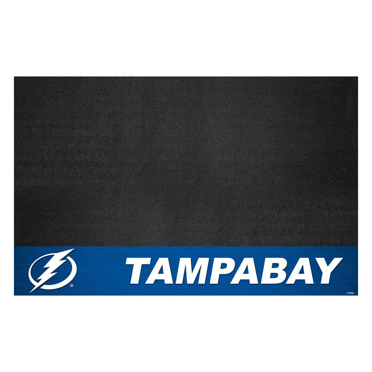 "Fanmats 14250 NHL - Tampa Bay Lightning Grill Mat 26""x42"""