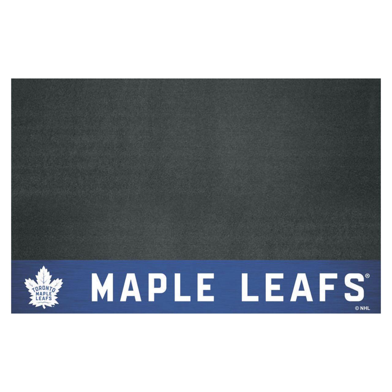 "Fanmats 14251 NHL - Toronto Maple Leafs Grill Mat 26""x42"""