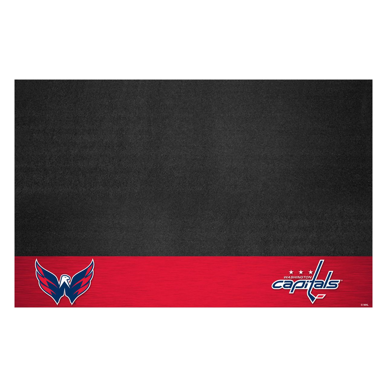 "Fanmats 14253 NHL - Washington Capitals Grill Mat 26""x42"""