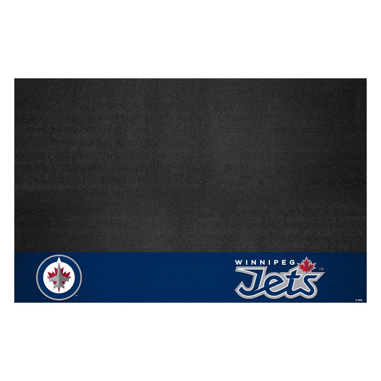 """Fanmats 14254 NHL - Winnipeg Jets Grill Mat 26""""x42"""""""