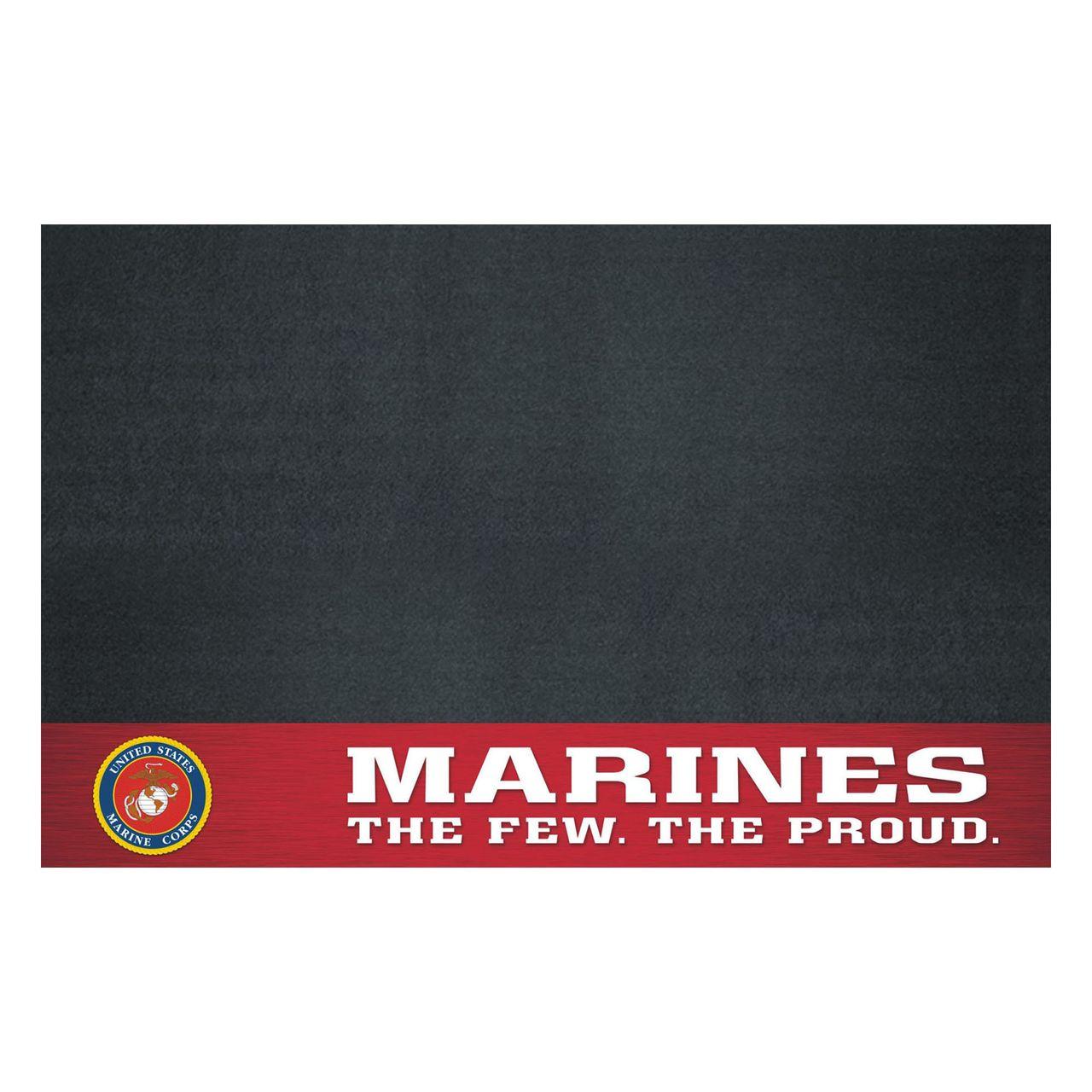 "Fanmats 15713 Marines Grill Mat 26""x42"""