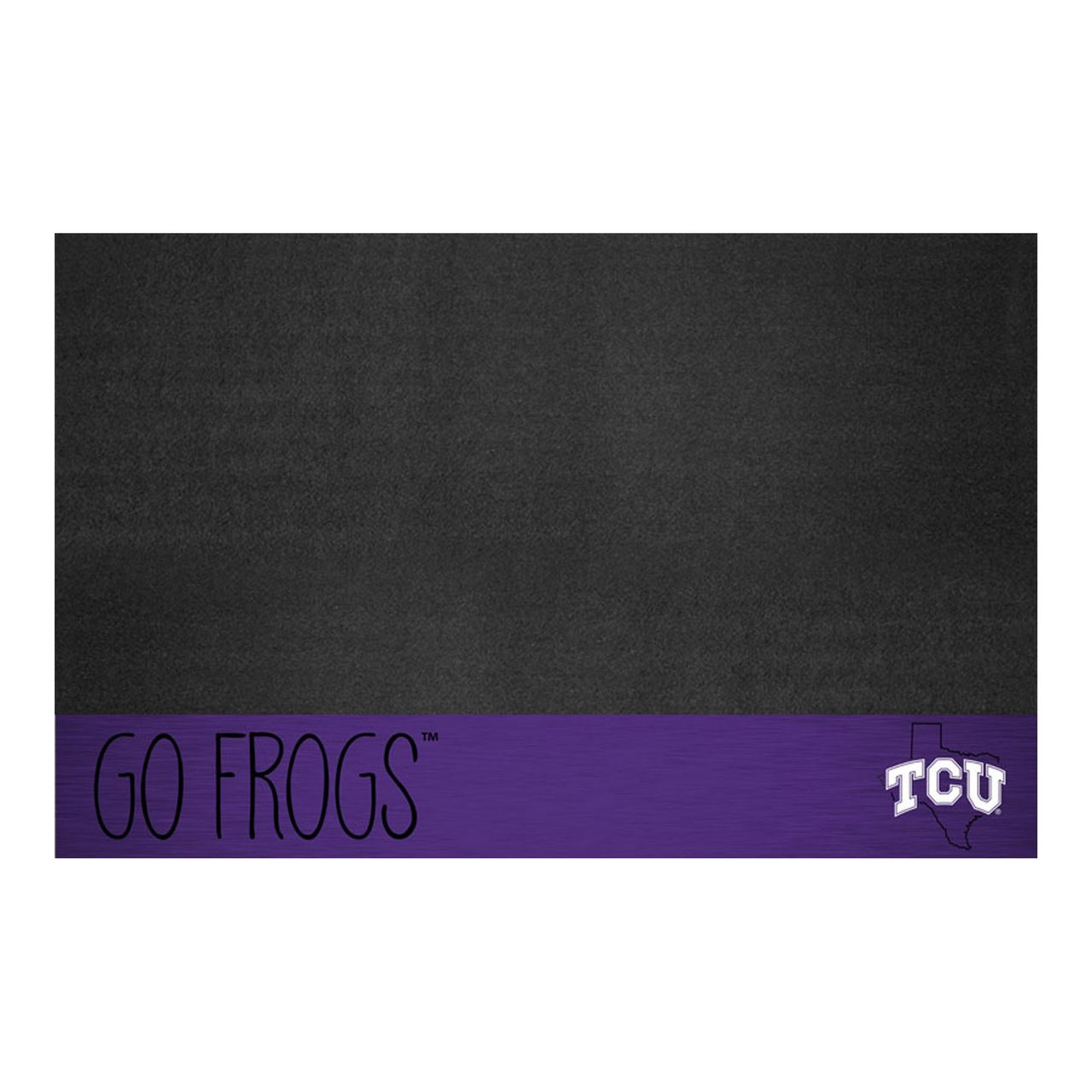 "Texas Christian University Grill Mat - 26"" x 42"""