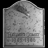 """19"""" x 21.5"""" Halley's Comet Fireback"""