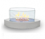 Anywhere Fireplace 90204 Lexington Tabletop Fireplace - White