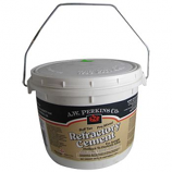 81155- Premixed Refractory Cement, Buff, 1/2-Gallon Tub