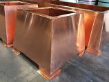 Storm Copper Chimney Shroud, 34 x 34 x 20 - 20 oz. Copper - Open Top