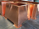 Storm Copper Chimney Shroud, 30 x 50 x 20 - 20 oz. Copper - Open Top