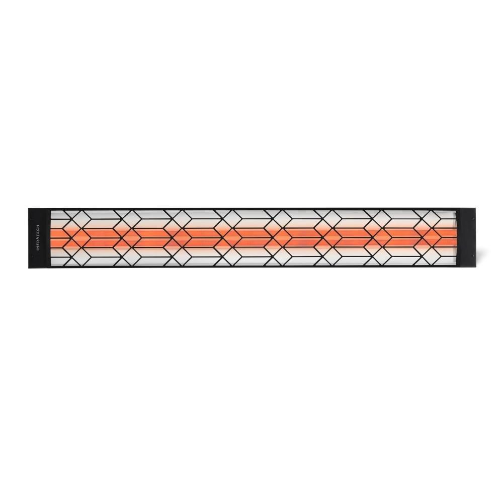 """Craftsman Motif Fascia Kit For 61.25"""" Single Heater - Black"""