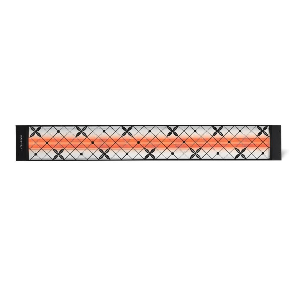 "traditional Motif Fascia Kit For 61.25"" Dual Heater - Black"