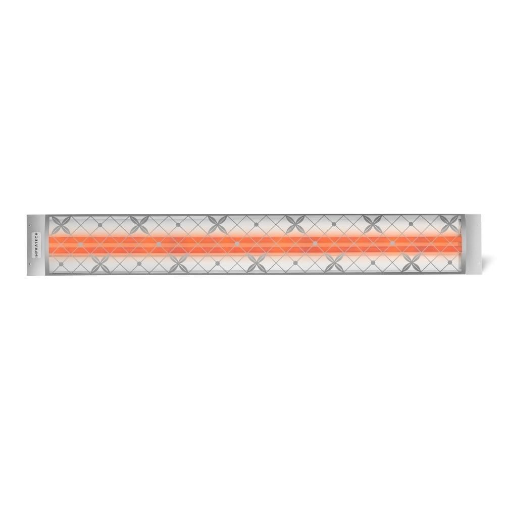 """traditional Motif Fascia Kit For 61.25"""" Single Heater - Stainless"""