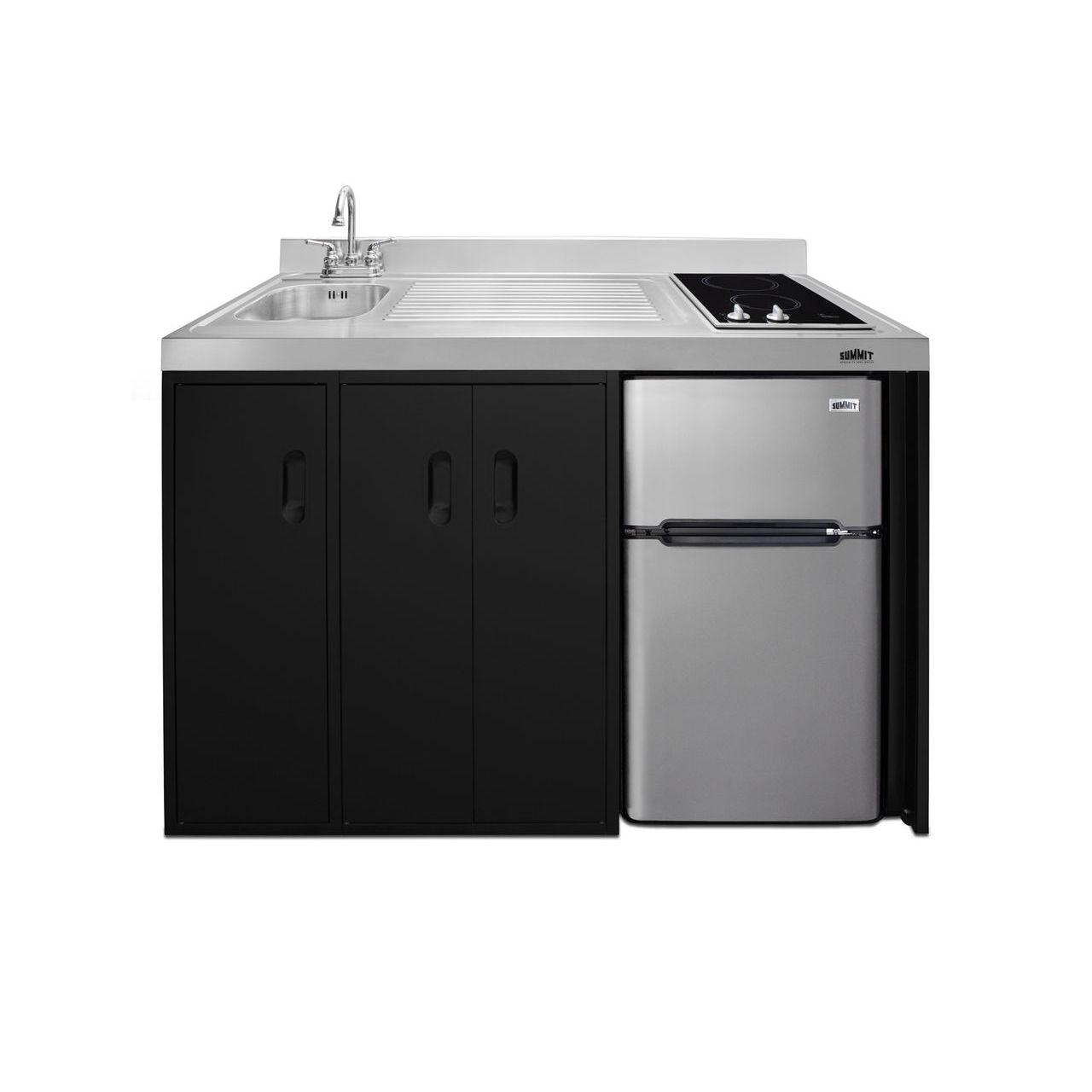 "Summit 54"" Wide All-In-One Kitchenette - Left Refrigerated Door"