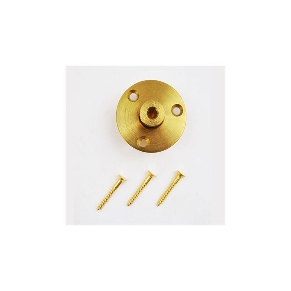 Meyco Brass Wood Deck Anchor w/Screws