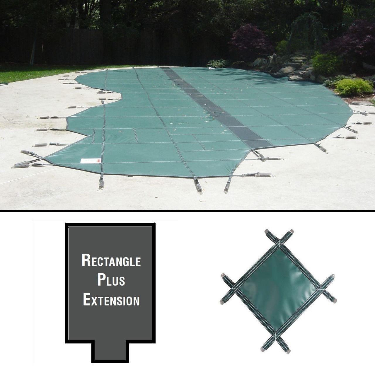 PermaGuard 20'x42' Rectangular Pool Cover Plus 4'x10' Extension